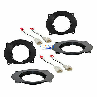 "2X Car 6.5"" - 6.75"" Speaker Adapter Wire Harness for 2002-up Toyota Lexus SAT69"