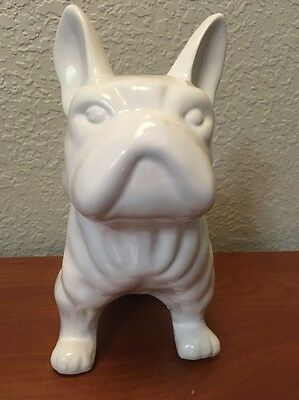 French Bulldog Ceramic Bank