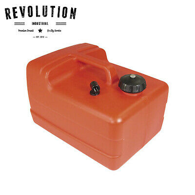 Fuel Tank 11.3L - No Gauge, Red - Brand NEW Boating Camping Fishing