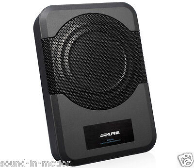 "Alpine PWE-S8 Compact Powered 8"" Subwoofer"