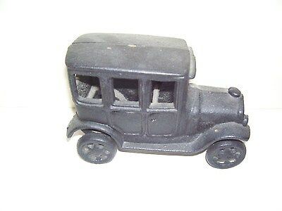 Metal Old time Black Truck Toy Good Condition