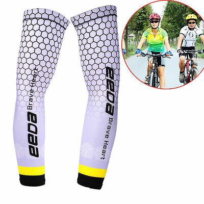 Cooling Sports Outoors Arm Stretch Sleeves Golf Sun Block UV Protection Cover