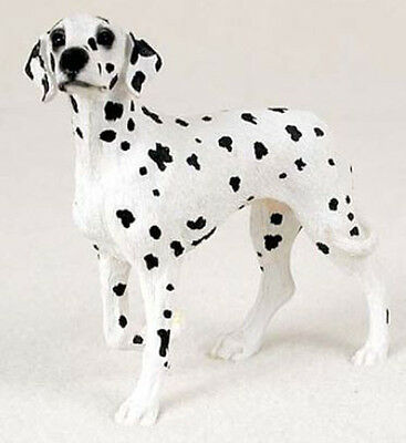 DALMATIAN Figurine Dog Statue Hand Painted Resin Gift Pet Lovers