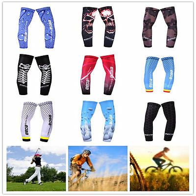 1 Pairs Cooling Sport Outoors Arm Stretch Sleeves Sun Block UV Protection Cover