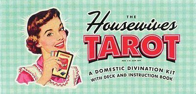 The Housewives Tarot 78 cards and a 96 page instruction book 9781931686990