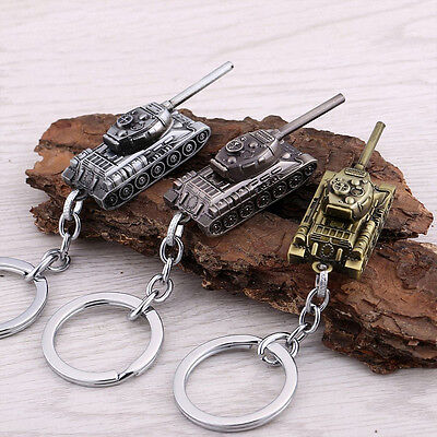 New Metal World of Tanks WOT Tank Key Ring Keychain Pendant Collection Gift $ ぱ