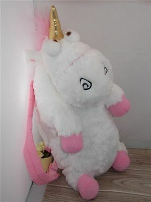 "Despicable Me 2 Rare Unicorn Plush Backpack 26"" SO FLUFFY"