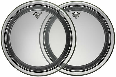 "Remo 22"" Powerstroke Pro Clear Bass Drum Head"