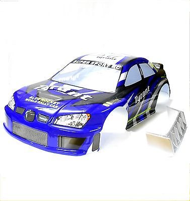 08066-3 1/8 Scale RC Nitro On Road Body Cover Shell Blue 290mm