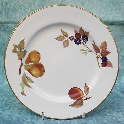 Royal Worcester Evesham Dessert Plate  Shape 24 size 4  Oven to Table Ware