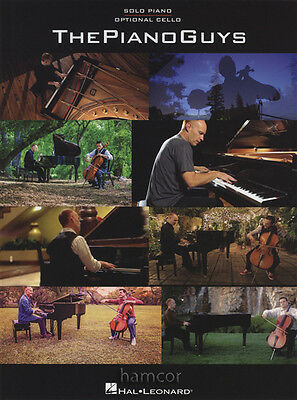 The Piano Guys Solo Piano Sheet Music Book with Optional Cello Part
