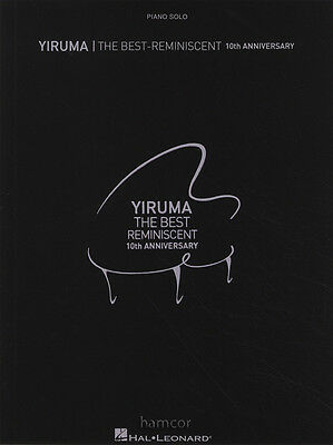 Yiruma The Best-Reminiscent 10th Anniversary Piano Solo Sheet Music Book