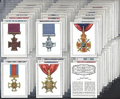 Utd Tobacco Co.(S.africa)-Large Card Set- Medals & Decs (100 Cards) - Exc