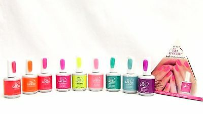 ibd Nail Soak off JUST GEL POLISH Assorted Colors Variations 57011 - 57062 .5oz