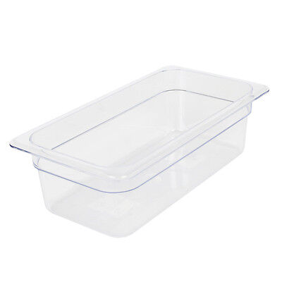 """Clear Food Pan, Third Size (6-15/16"""" x 12-3/4"""")"""