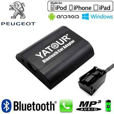 Interface Kit mains libres Bluetooth et streaming audio PEUGEOT CAN - Neuf
