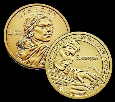 2017 D Native American Sacagawea Position B Business Strike from US Mint Roll