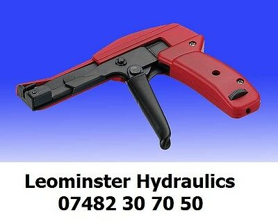 Cable Tie Tensioner & Cutter for Nylon Ties - (Widths 2.4mm to 4.8mm)