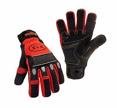 TechTrade Protech 8 X+R Firefighter Extrication Rescue Gloves- Multiple Colors