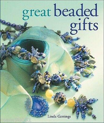 Beading Pattern Book GREAT BEADED GIFTS ~ Jewelry, Decor, Bookmarks, Ornaments +