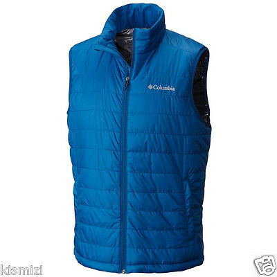 "New Mens Columbia ""Crested Butte"" Insulated Omni-Heat Vest S-M-L-XL"