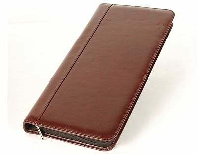 Aston American Cowhide Leather Collector's Case for 40 Pens, Brown