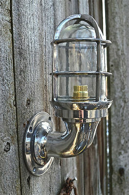 Nautical Light Marine Ship Aluminium Passage Bulkhead Outdoor Light 1 Piece