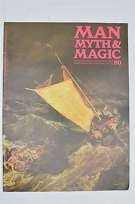Man Myth & Magic Magazine #90 1971 Vintage UK Illustrated Supernatural