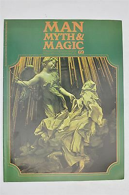 Man Myth & Magic Magazine #69 1971 Vintage UK Illustrated Supernatural