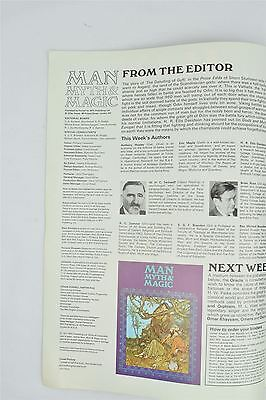 Man Myth & Magic Magazine #73 1971 Vintage UK Illustrated Supernatural