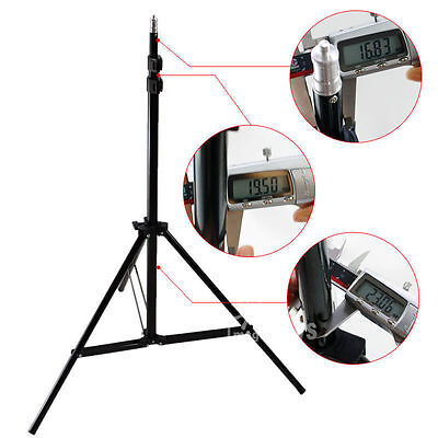 Pro Photo Photography Studio 210CM Light Stand Tripod Video Lighting Stand Kit