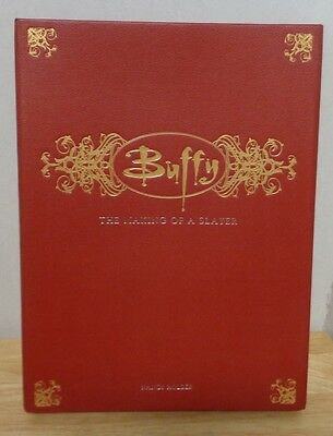 Buffy The Making of a Slayer Vampires TV Show Collectible Guide and Spellbook HC