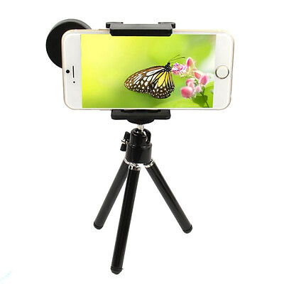 8X Zoom Optical Telescope Camera Lens with Holder & Tripod for iPhone 7 6s SE