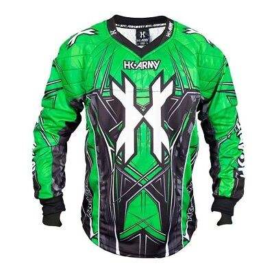 Paintball 2017 HK Army HSTL 2017 Paintball Jersey - Neon Green - Small