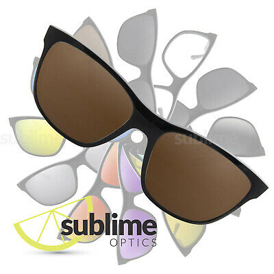 c7d3d90c694fc POLARIZED Dark Brown Replacement Lenses for Ray Ban Highstreet RB4181 ~  Bronze