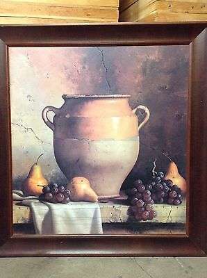 """38/""""x24/"""" CONFIT JARS WITH FRUIT by LORAN SPECK DINING VASES CANVAS"""
