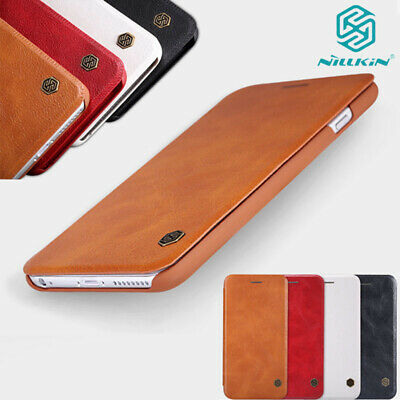 Genuine Nillkin Luxury Flip Wallet Leather Case Cover For iPhone XS Max XR 7 8+