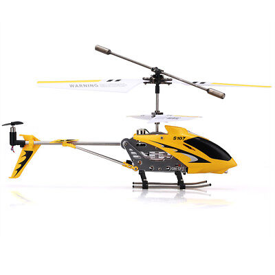 Syma RC Hélicoptère Drone avec Gyro Copter 3 Canaux Transmetteur Radiocommande