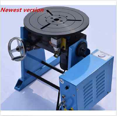 50KG Duty Welding Positioner Turntable Timing with 300mm Chuck 220V / 110V