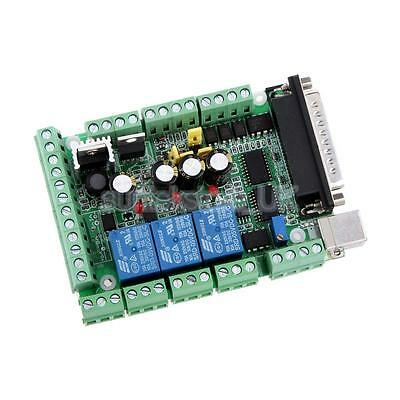 CNC Mach3 Interface Breakout Board 6 Axis 0-10V PWM for Stepper Motor Driver