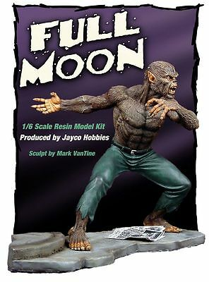 Werewolf by Night resin model kit set 1/6 scale full moon  JACK RUSSELL