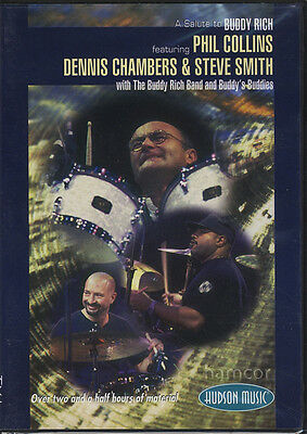 A Salute to Buddy Rich featuring Phil Collins, Dennis Chambers & Steve Smith DVD