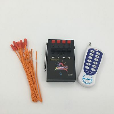 Fireworks Firing system 4CH Smart Wireless Remote Safety Igniter Electroni wire