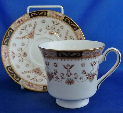 A Queens 'olde England' Tea Cup And Saucer