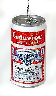 Beer Lovers! Love Budweiser? Bud Beer Can Christmas Ornament New