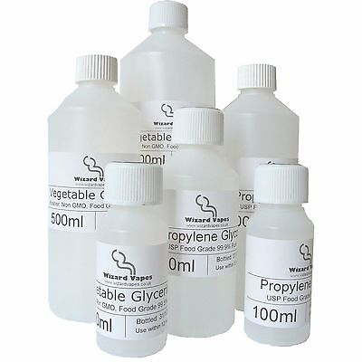 Vegetable Glycerine & Propylene Glycol DIY E-Liquid Mixing Base VG PG
