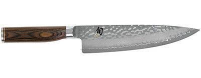 Shun Tdm0706 Premier 8 Inch Chef's Kithen Knife.the One Knife You'll Reach For