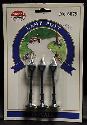 Model Power O Scale Lamp Post No. 6079