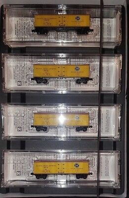 Z MTL 994 00 040 40' Reefer Pacific Fruit Express SP/UP Four Car Runner Pack