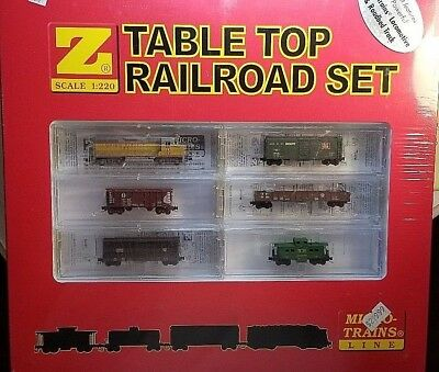 MTL Z 981 01 020 GP-35 UP Table Top Railroad Set NIB Sealed